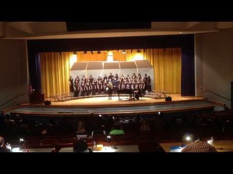 Western Branch Middle School Chorus CPS Assessment Concert 2017 Fill The Night With Singing
