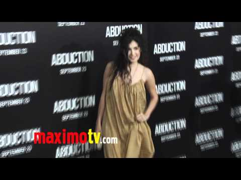 Veronica Loren at ABDUCTION World Premiere Arrivals