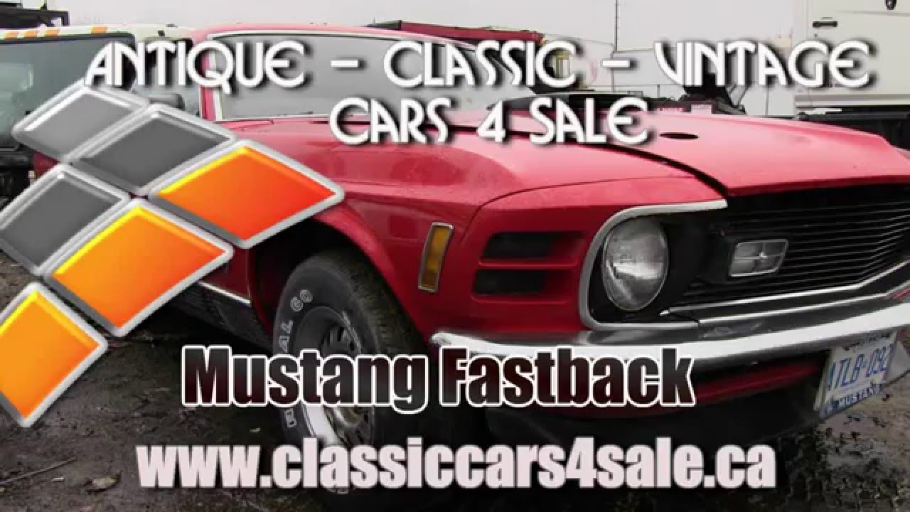 Mustang Mach 1 Fastback, Classic Muscle Car for sale in Toronto ...