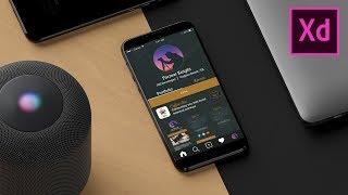 How to Design & Prototype a Mobile App - Adobe Xd Tutorial screenshot 5