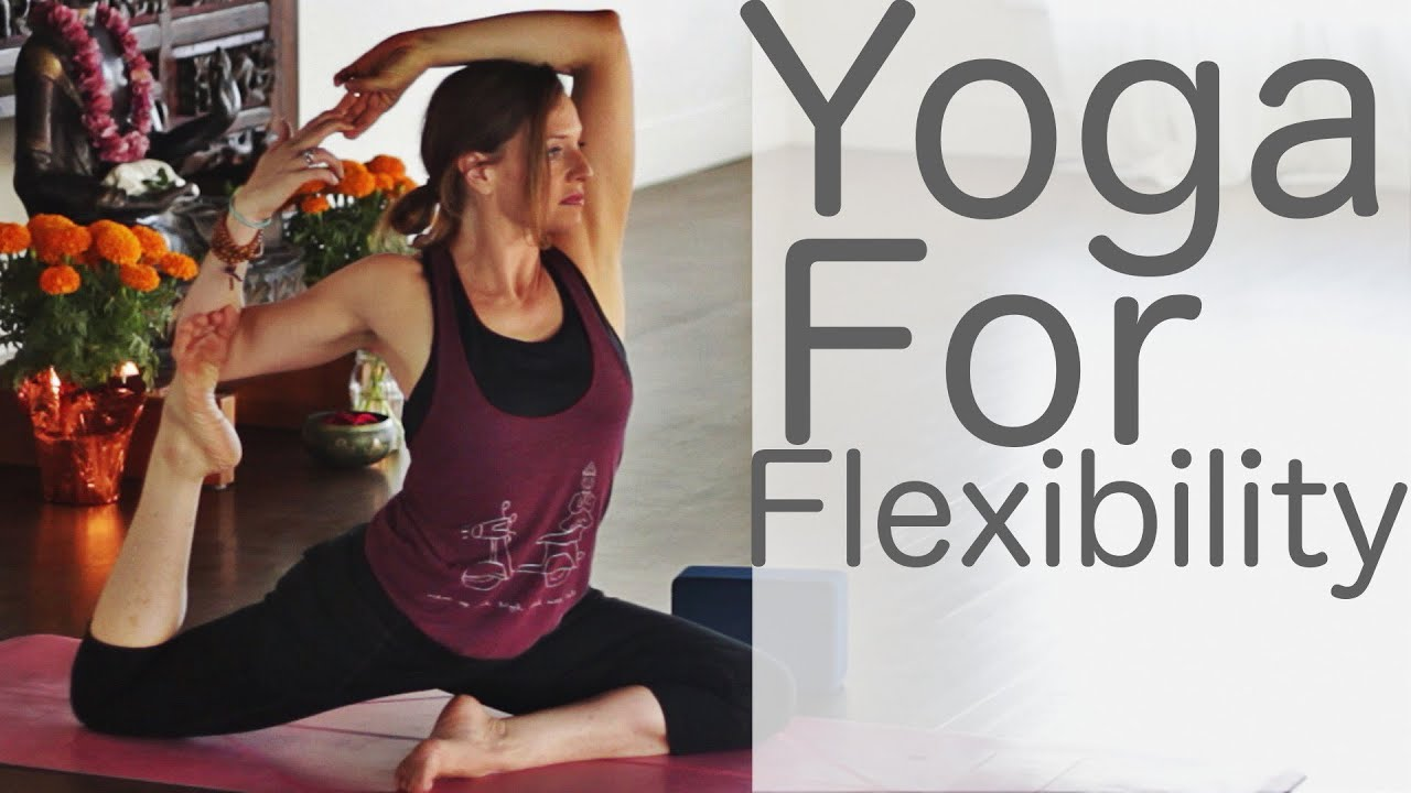 35 Min Yoga for Flexibility Created by Lesley Fightmaster