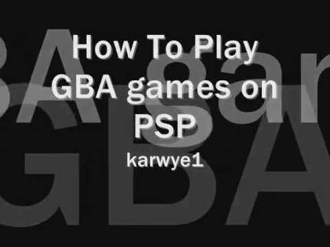 how to play gameboy games on psp