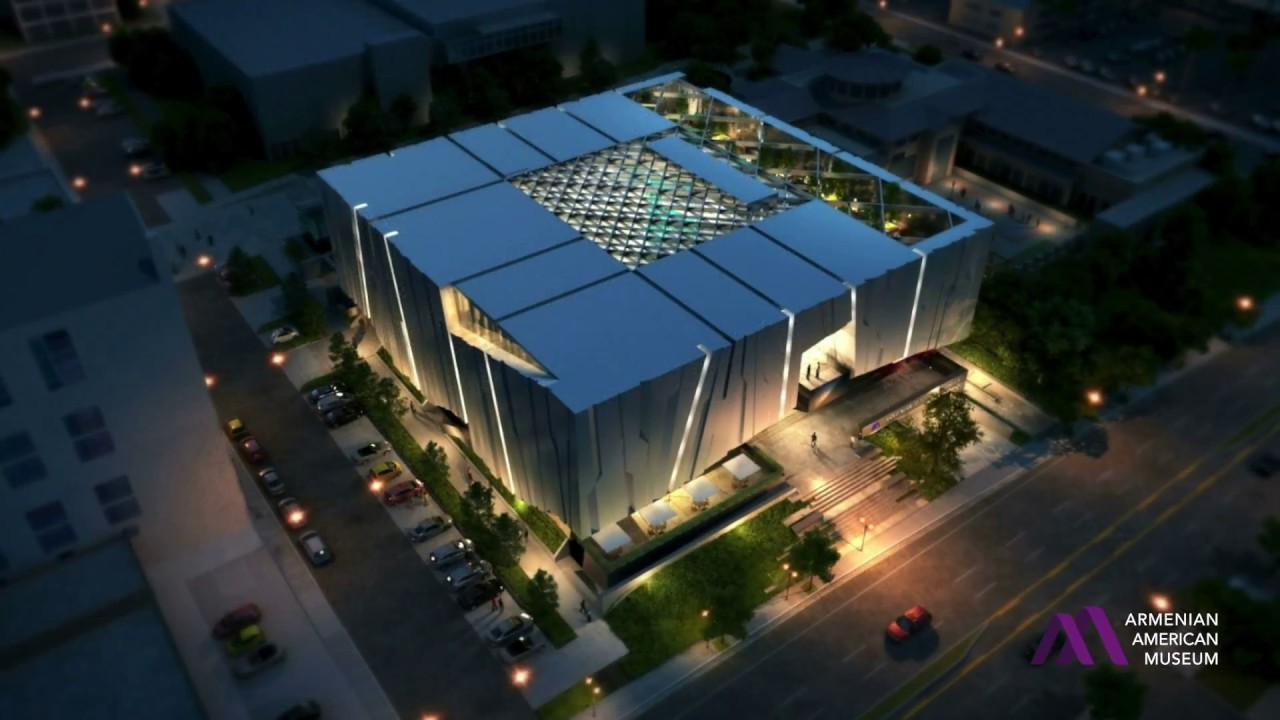 VIDEO: Armenian American Museum Concept Design Slideshow | Armenian