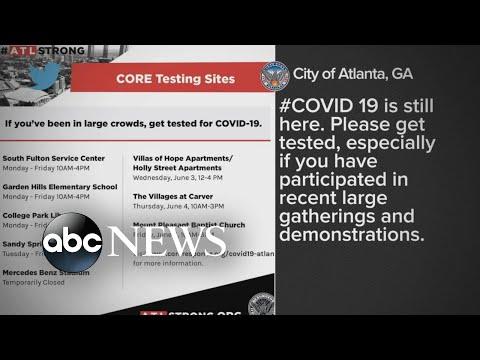 Spreading coronavirus amid George Floyd protests  WNT