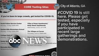 Spreading coronavirus amid George Floyd protests | WNT
