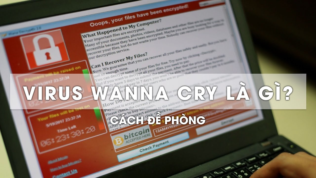 how to remove wanna cry virus
