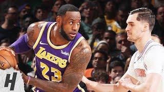 Los Angeles Lakers vs New York Knicks - Full Game Highlights | March 17, 2019 | 2018-19 NBA Season