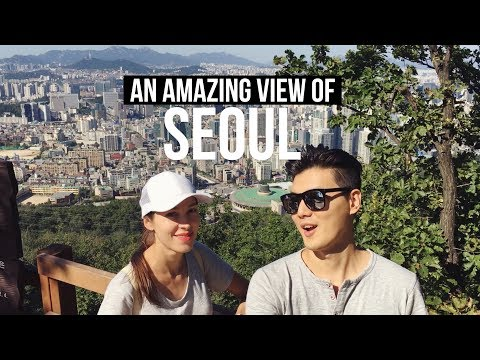 1st Time Mountain Climbing & Incredible View of Seoul ⛰