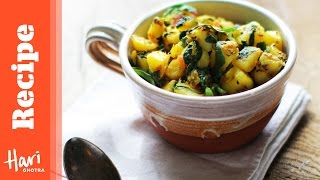 How To Cook Authentic Indian Saag Aloo With Hari Ghotra
