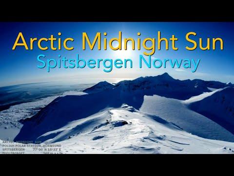 Flat Earth - New Footage Of Arctic Midnight Sun