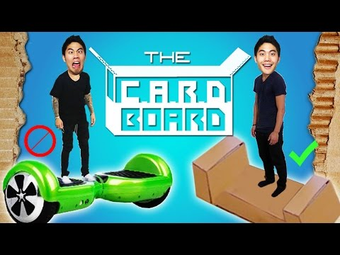 Thumbnail: The CARDBOARD!