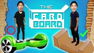 Who needs Hoverboards when you got CARDBOARDS!? The CyBord AirBored Rolling Device or the C.A.R.D.BOARD is the future of transportation! Thank you ...