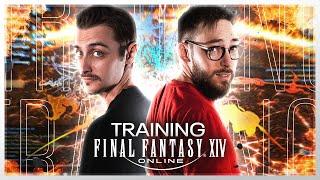 FFXIV : PRÉPARATION DU TOURNOI (Training) #PublicitéParSquareEnix