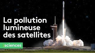 La pollution lumineuse des satellites inquiète les astronomes
