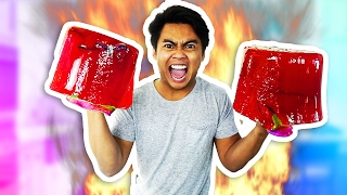 DIY How To Make JELLO BOXING GLOVES! thumbnail