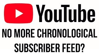 Youtube News: Your Sub Feeds May Be Changing!