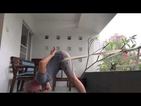 yoga traction for lower back pain  youtube