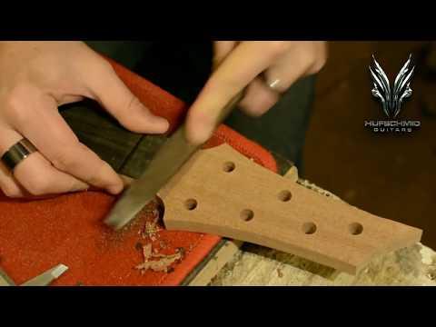 Building a Hufschmid Guitar - none time lapse version !