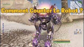 TRUC - FORTNITE ASTUCE HOW TO CONTRER THE ROBOT ULTRA CHEATER OF SAISON X on Fortnite BR