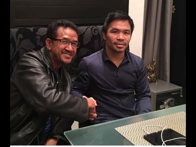 YARI KA THURMAN!!! Pacquiao pinagdasal si Thurman sa Shepherd Church!!!