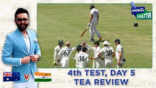 Cricbuzz Chatter: AUS v IND, 4th Test, Day 5, Tea Review