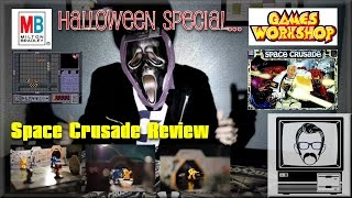 Space Crusade Board Game Review Halloween Special | Nostalgia Nerd