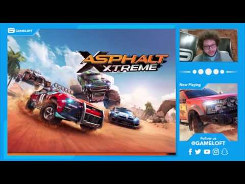 GAMELOFT CATCH-UP: Asphalt Xtreme Hoggar Concept & Ford F-450 Facebook Live Reveal