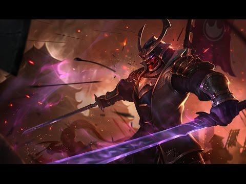 Shen Samurai - League of Legends (Completo BR / Rework 2016)