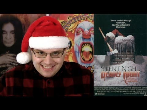 Silent Night, Deadly Night (1984)- Blood Splattered Cinema (Horror Movie Review)