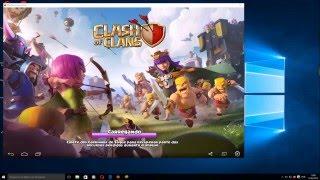 Como Instalar Bluestacks para PC e Instalar Clash of Clans ATUALIZADO