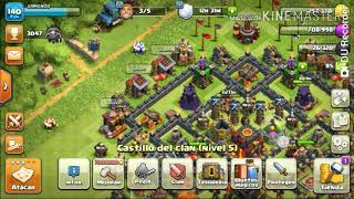 The end of the mini games of Clash Of Clans