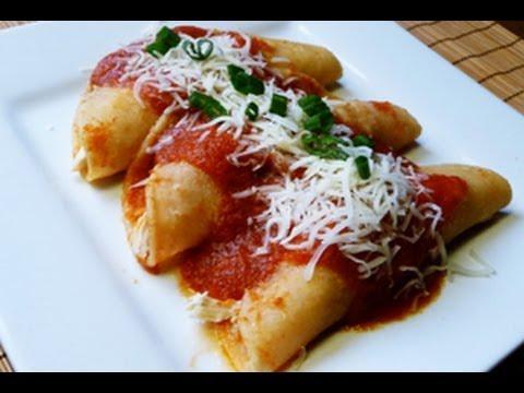 How to Make Entomatadas, Mexican Recipe