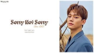 Download Lagu Chen (첸) – Sorry not sorry (하고 싶던 말) (Indo Sub)</b> Mp3