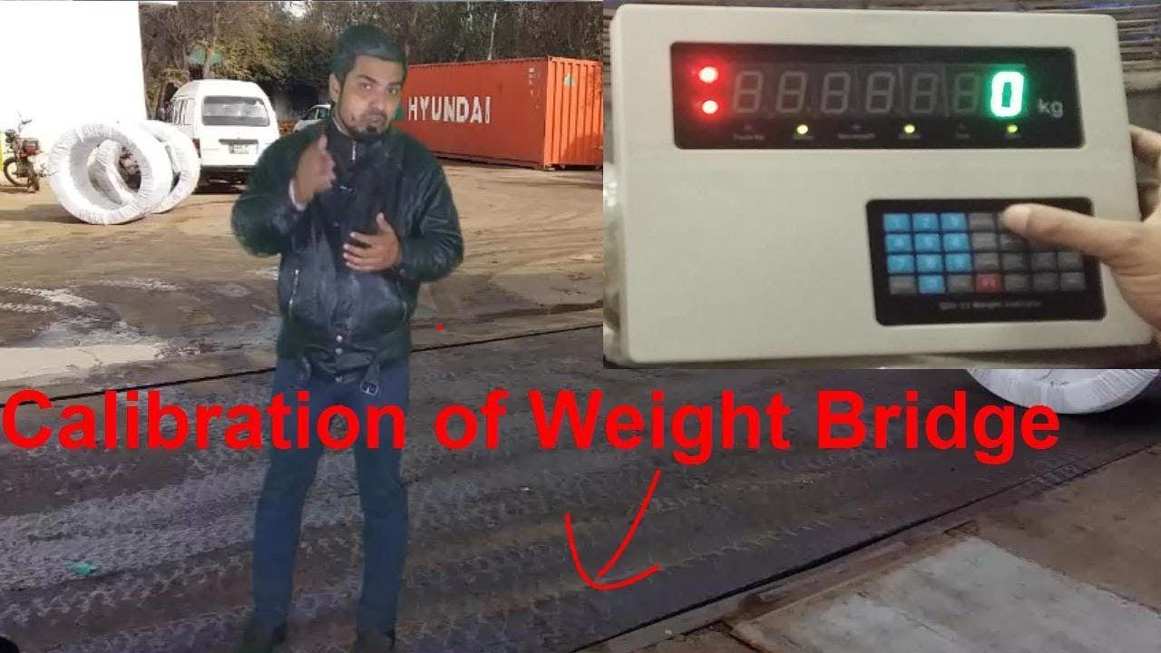 Calibration of Weighbridge | Weighing Indicator QDI 11 ...