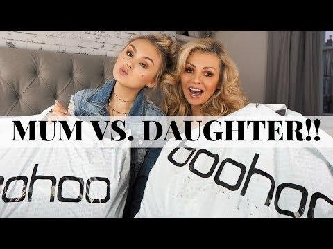 £350 BOOHOO TRY ON HAUL // Mum Vs. Daughter // SUPER HAUL SUNDAY