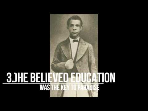 """Up From Slavery: 5 interesting facts about Booker T. Washington l Ch.1 """"A Slave Among Slaves"""""""