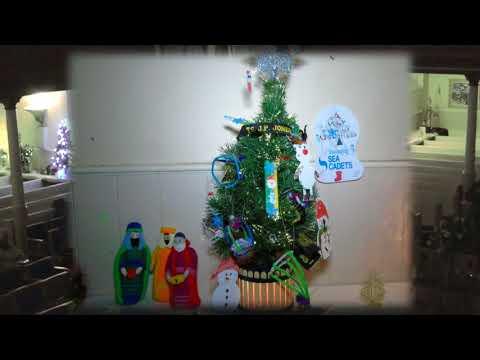 Kirkcudbright Parish Church Christmas Tree Festival 2017