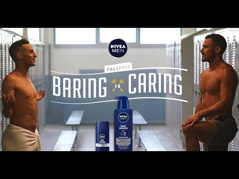 NIVEA MEN #BaringisCaring | Danny Amendola & Adam Rippon talk body shaving