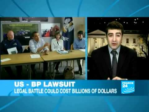 US government sues BP for billions over Gulf oil spill