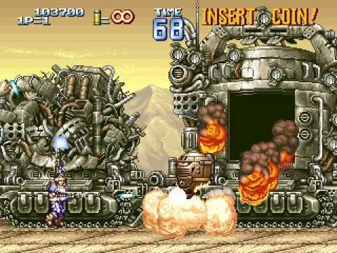 Arcade Longplay [548] Geo Storm