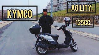 KYMCO AGILITY 125 CC İNCELEME