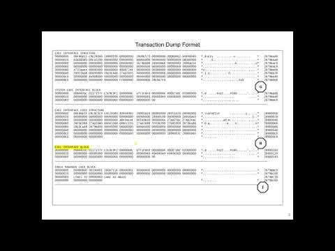 CICS Transaction Dump Analysis
