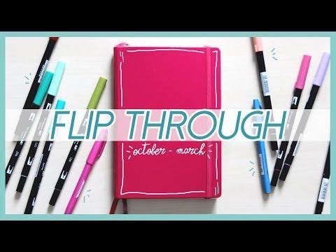 BULLET JOURNAL Flip Through #03 | Qualcosa di Erre
