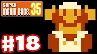 Super Mario Bros. 35 - Gameplay Part 18 - 2nd Place Over and Over!