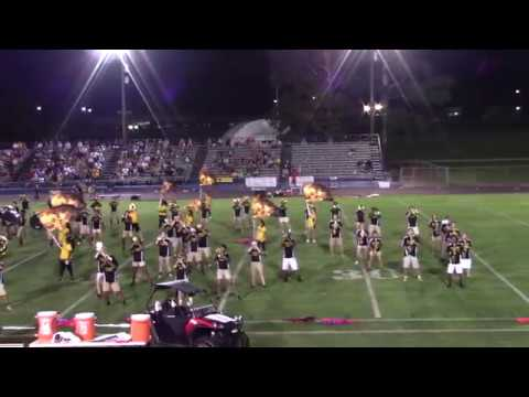 2018 Pontotoc High School Marching Band, Pontotoc vs. Aberdeen