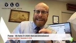 How to use VA Form 21-2680 to support a claim for VA Aid and Attendance