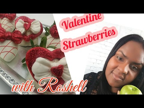 How To Create Valentine Strawberries (Must See)