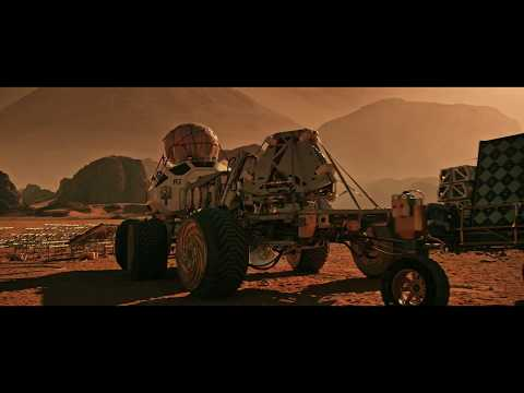 Heart touching scene for the martian