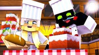 ISY und ROMAN arbeiten als BÄCKER?! - Minecraft [Deutsch/HD]