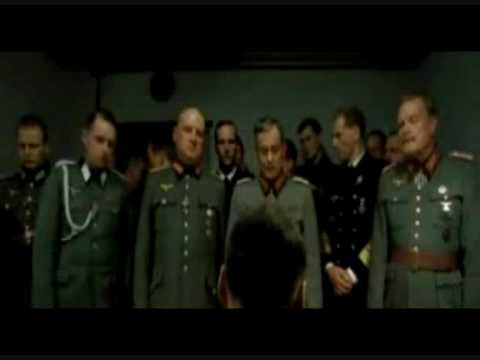 Hitler finds out his Student Loan Application has been lost.